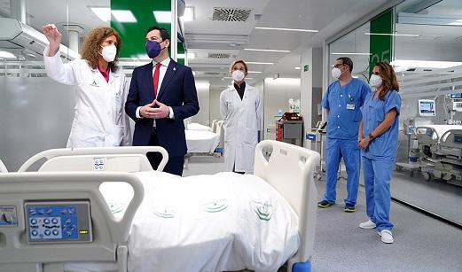 La Junta abre en Sevilla el Hospital de Emergencia Covid-19, uno de los más avanzados de Andalucía.