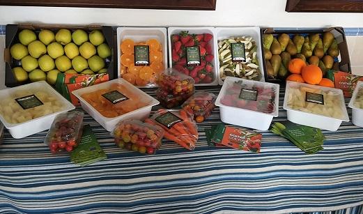 La Junta reparte 6,5 millones de raciones de frutas y hortalizas entre 520.000 escolares andaluces.