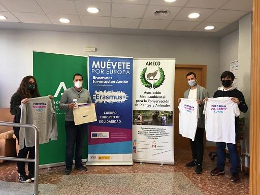 Ameco, con su proyecto de voluntariado sobre las aves urbanas, primera en sumarse en Jaén al programa europeo CES, impulsado por el IAJ.