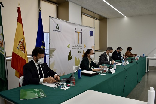 Aprobados proyectos por 23,5 millones en la Comisión de Participación de la ITI de Jaén.