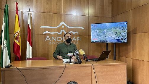 """El área de Turismo de Andújar pone en marcha nuevas acciones promocionales del Parque Natural """"Sierra de Andújar""""."""