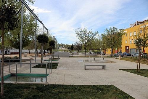 El Parque La Lagunilla de Andújar cuenta con un nuevo abastecimiento de aguas subterráneas para sus fuentes.