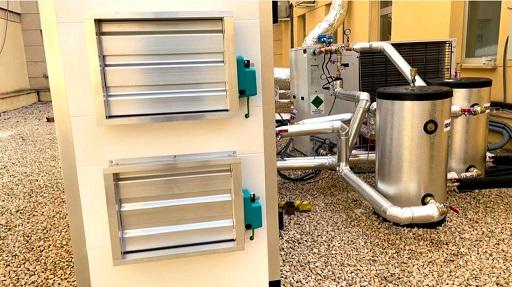 El Hospital de Jaén sustituye sistemas e instala nuevos equipos de climatización.