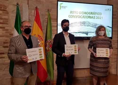 Diputación lanza las convocatoria de ayudas del Programa Reto Demográfico con 4 millones de euros para 2021-2022.