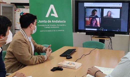 Dos andaluces, embajadores de la juventud europea para el sello de calidad sobre información juvenil.