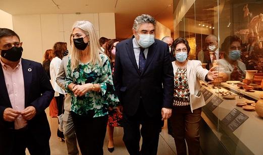 Del Pozo destaca el impulso al Museo Íbero de Jaén con fondos de la Junta y una exposición a fin de año.