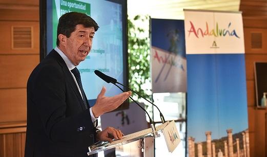 Juan Marín destaca que Andalucía demostrará en Fitur que es «única, diversa e insuperable».
