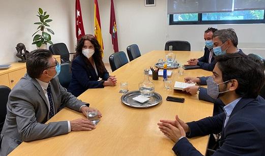Andalucía intercambia experiencias con la ciudad de Madrid sobre gestión de políticas sociales.