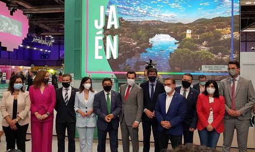 La provincia de Jaén muestra en Fitur 2021 su singular oferta turística que invita a viajar con seguridad.