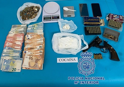 La Policía Nacional desmantela en Linares un punto de abastecimiento provincial de cocaína.