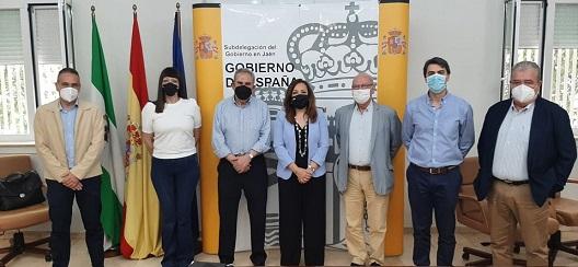 La subdelegada destaca que el Programa de Ayuda Alimentaria reparte en Jaén 424.162 kilos de alimentos a 23.204 jiennenses en riesgo de exclusión.