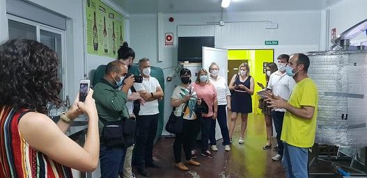 Empresas y productos Degusta Jaén se promocionan entre periodistas y blogueros gastronómicos.