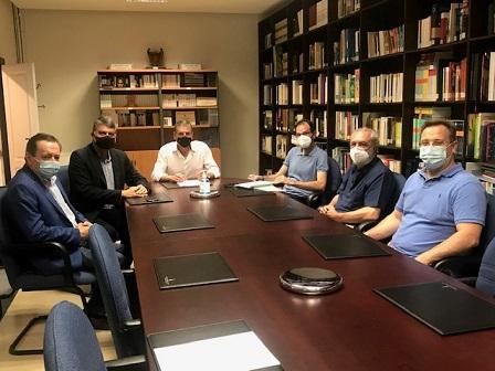 Diputación y Federación Española de Ajedrez ultiman los preparativos del Festival de Ajedrez que se celebra en agosto.