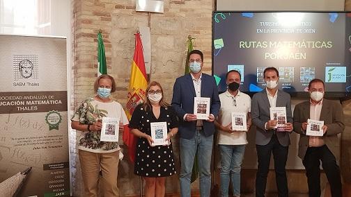 La Sociedad Thales diseña rutas matemáticas por Alcalá la Real, Andújar y Jaén.