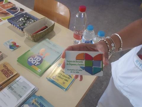 La Agencia Sanitaria Alto Guadalquivir se suma a la celebración del Día Nacional del Donante.