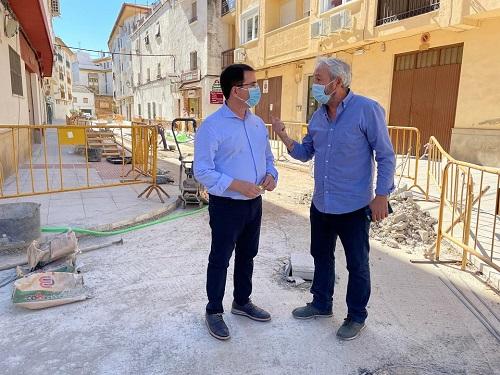 El Ayuntamiento de Andújar a punto de concluir las obras de remodelación de la calle Truco.
