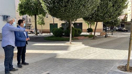 El Ayuntamiento de Andújar finaliza la segunda fase de renovación de la calle Cristo Rey.