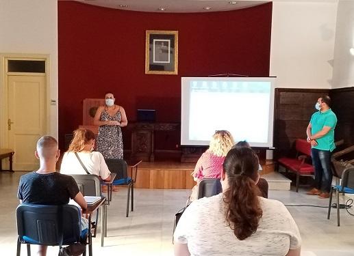 Continúan en Andújar los cursos formativos de Cruz Roja para facilitar la inserción laboral de jóvenes.
