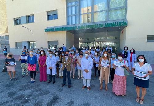 El Hospital de Jaén reconoce a las enfermeras comprometidas con la excelencia en cuidados.