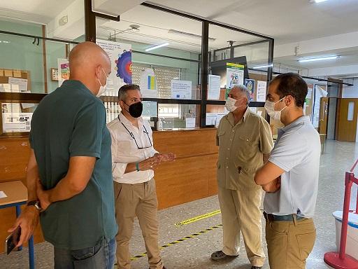 Educación invierte en Jaén más de un 1 millón y medio de euros en la modernización de las instalaciones de 49 centros públicos de FP.