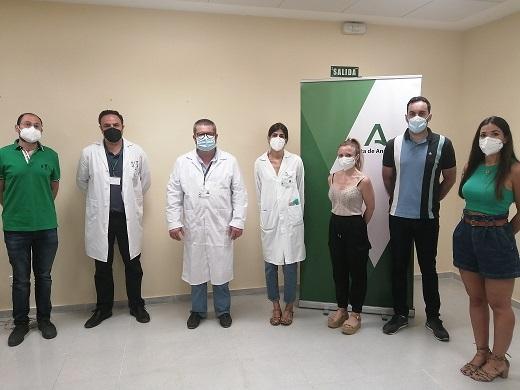 El Hospital Alto Guadalquivir da la bienvenida a cuatro nuevos especialistas internos residentes.