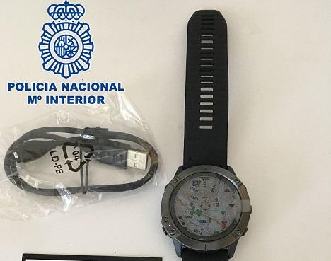 """La Policía Nacional finaliza la operación """"Clock"""" por delitos de estafa mediante tarjetas bancarias en Jaén y Ceuta."""