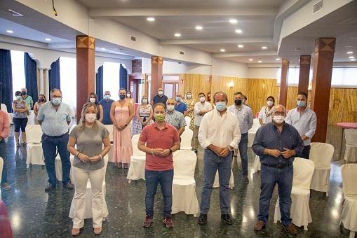 """El PP celebra reunión comarcal en Andújar para reforzar esta zona que para la dirección provincial es """"de acción preferente""""."""