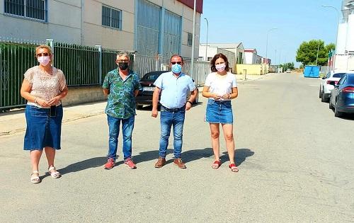 Lopera recibe una ayuda de 102.000 euros para la obra «Mejora en la ampliación del Polígono Industrial Santa Quiteria».