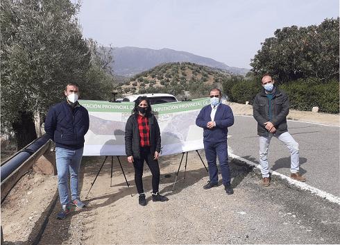 Diputación licita obras en carreteras de la provincia con un presupuesto cercano a los 7 millones de euros.