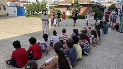 Clausura de la Escuela de Verano de Garantía Alimentaria 2021 puesta en marcha a través del Plan Local de Intervención en Zona Desfavorecida.