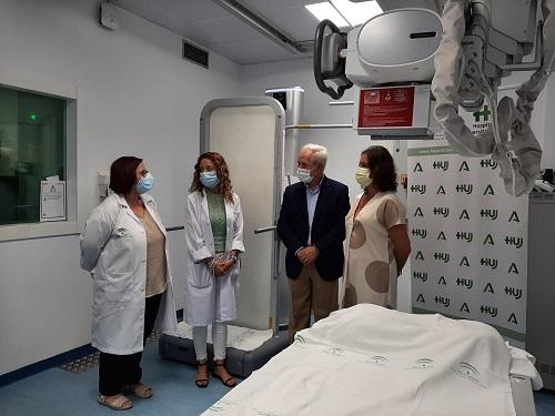 El Hospital Universitario de Jaén pone en marcha una nueva sala de Radiología Digital.