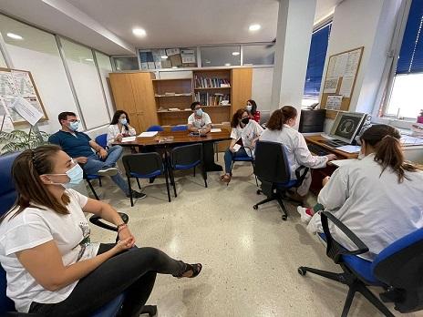 Los hospitales de Jaén ponen en marcha un comité para seguimiento de tumores torácicos.