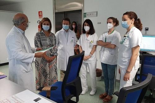 El Hospital de Jaén pone en marcha el tercer acelerador lineal de última generación.