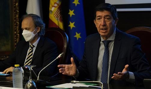 Juan Marín ensalza a todos los integrantes del sector turístico por propiciar su recuperación.