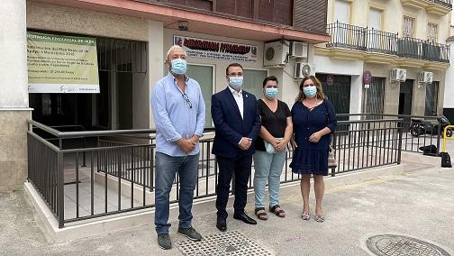 El Ayuntamiento de Andújar finaliza la mejora realizada en el acceso a la Barriada Virgen de la Cabeza desde Corredera Capuchinos.