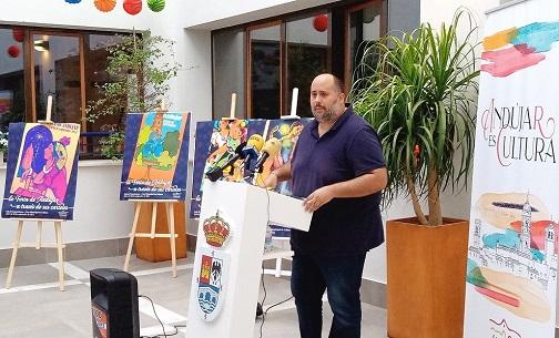 "La Casa de Cultura acoge la Exposición ""La Feria de Andújar a través de sus carteles""."