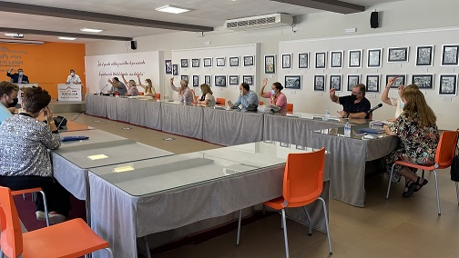El Ayuntamiento de Andújar aprueba la ampliación del presupuesto destinado a la rehabilitación e insonorización del pabellón ferial.