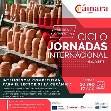 El Ayuntamiento de Bailén y la Cámara de Linares organizan unas jornadas dirigidas a empresas de cerámica de la provincia para dar a conocer herramientas que impulsen sus ventas.