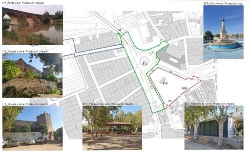 La Consejería de Cultura da luz verde definitiva al proyecto de regeneración del eje Parque-Colón Ribera del Guadalquivir de Andújar.