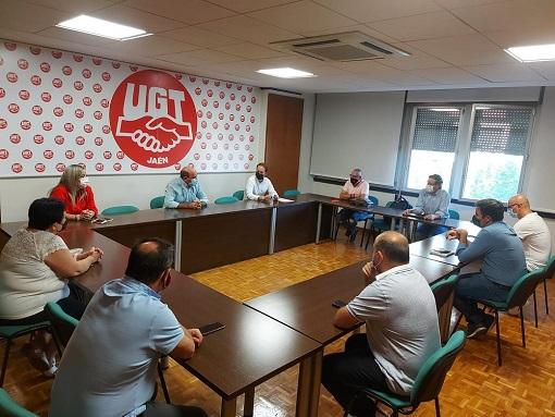 La dirección provincial del PP de Jaén mantiene un primer encuentro con UGT.