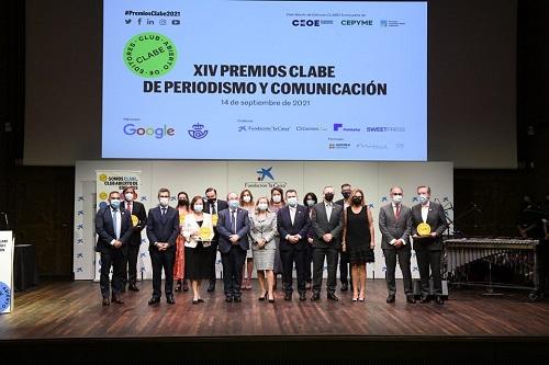 CLABE pide unidad y compromiso con el sector editorial en la XIV edición de sus premios de periodismo y comunicación.
