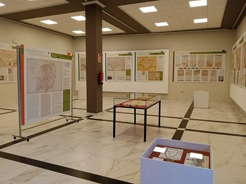 La Casa de la Cultura de Andújar acoge una exposición sobre la transformación de Jaén a través de la cartografía.