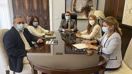 La UNED y el Ayuntamiento de Andújar estrechan lazos para reforzar la oferta educativa universitaria en la localidad.
