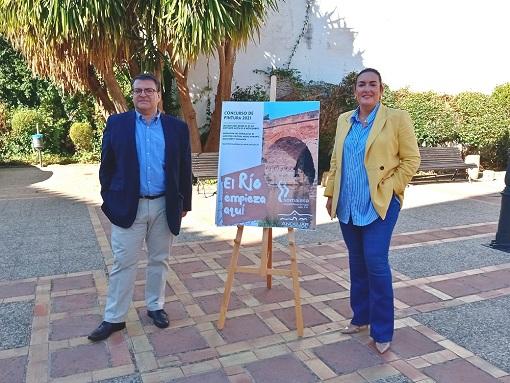 """El Ayuntamiento de Andújar y Somajasa promueven el Concurso de Pintura """"El río empieza aquí""""."""
