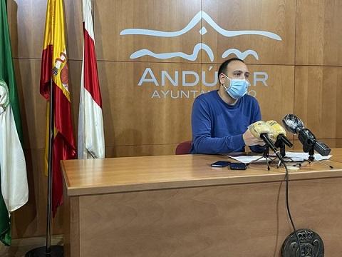 El próximo pleno municipal de Andújar volverá a celebrarse en el Salón de Plenos del Palacio Municipal.