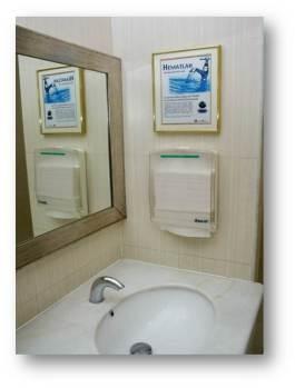 Penghilangan tissue di Toilet