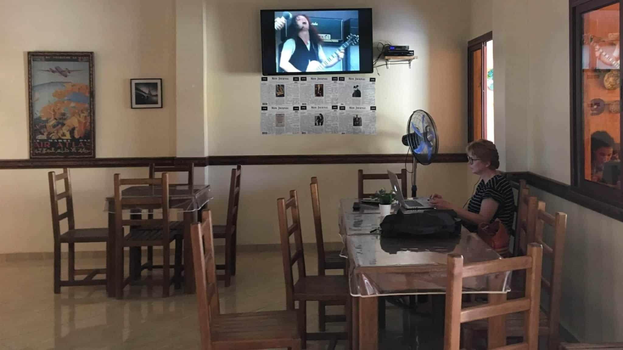 Innenaufnahme des Restaurants
