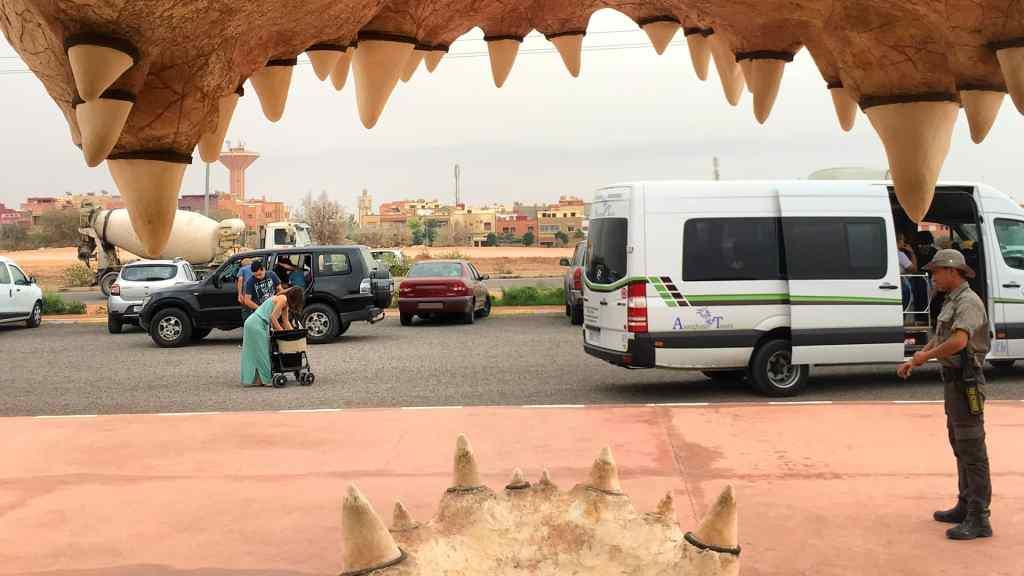 Entrance of the CrocoParc in Agadir