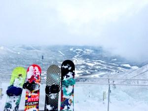キャンピングカー車中泊でスキー・スノボ合宿