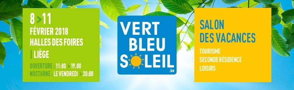 Salon vert bleu soleil